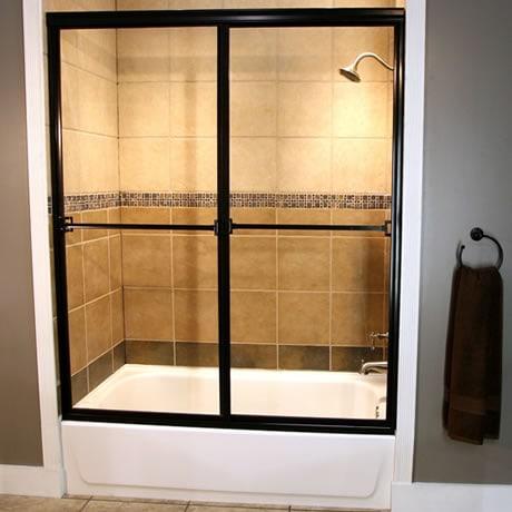 Sliding Shower Doors Sacramento Cardinal Builder Series