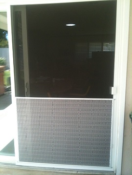 ... Patio Door Screen Repair